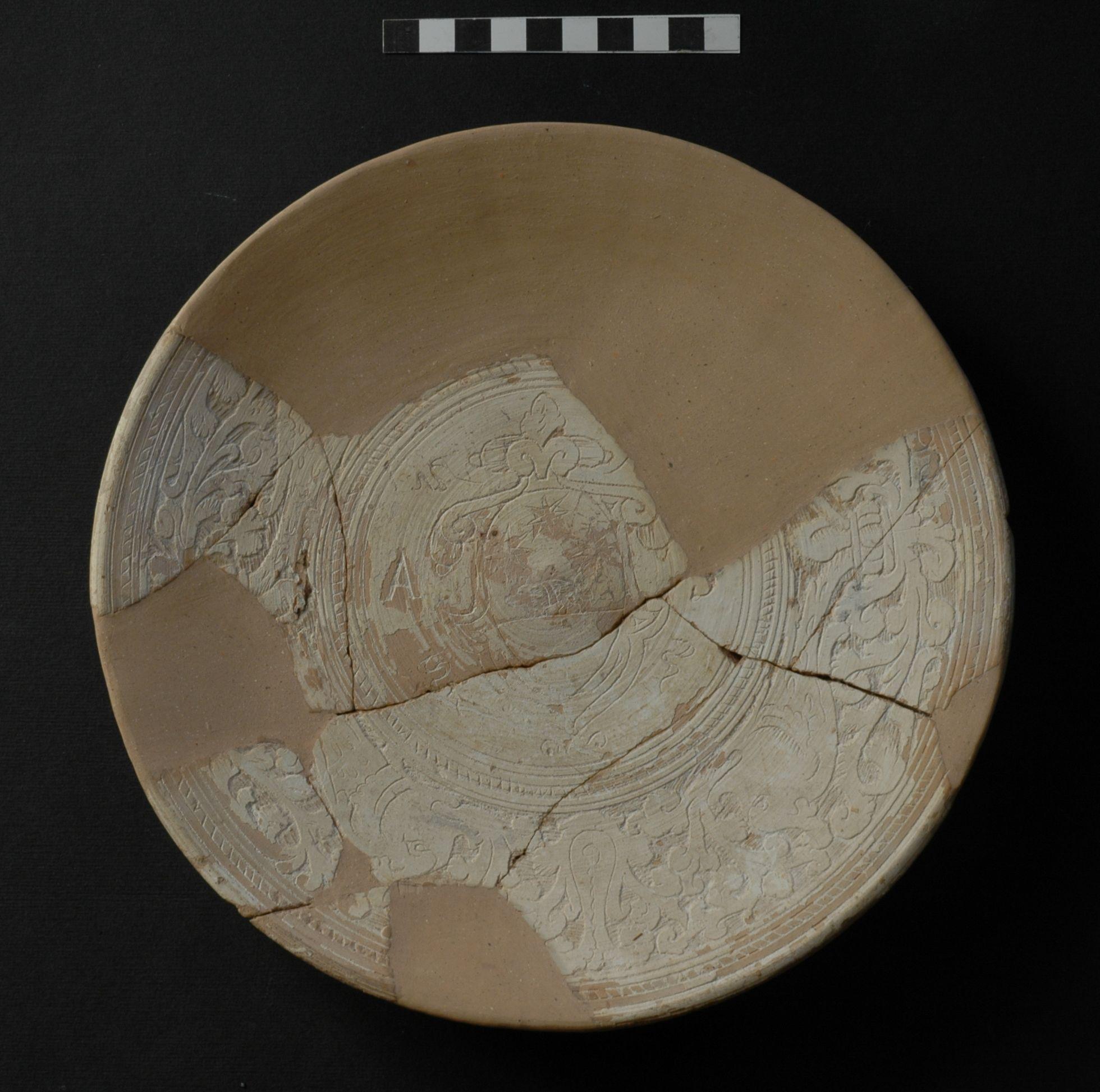 piatto piano, opera isolata - ambito toscano (secc. XVI/ XVII)