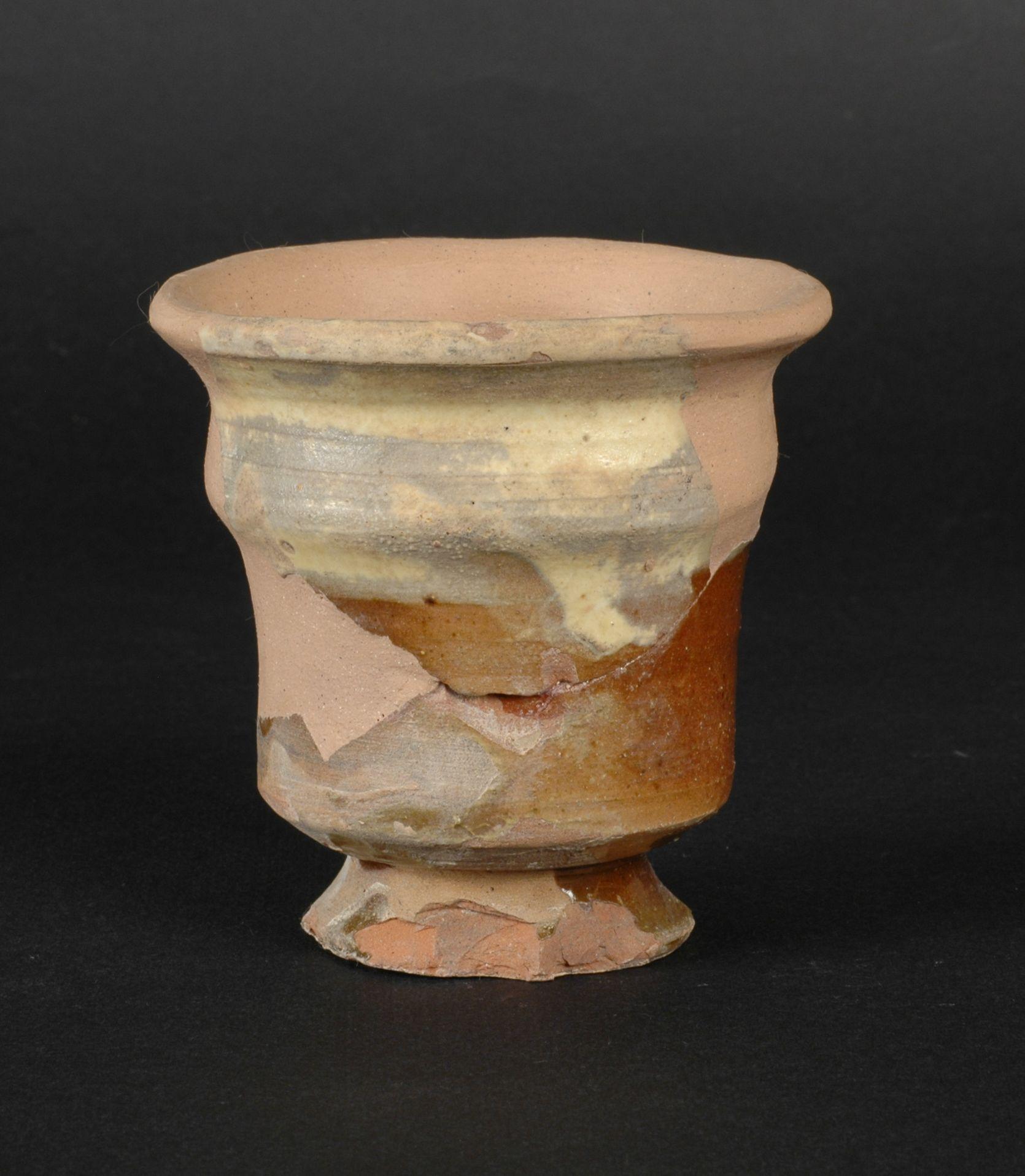 vaso - acroma depurata, opera isolata - ambito toscano (secc. XVI/ XVII)