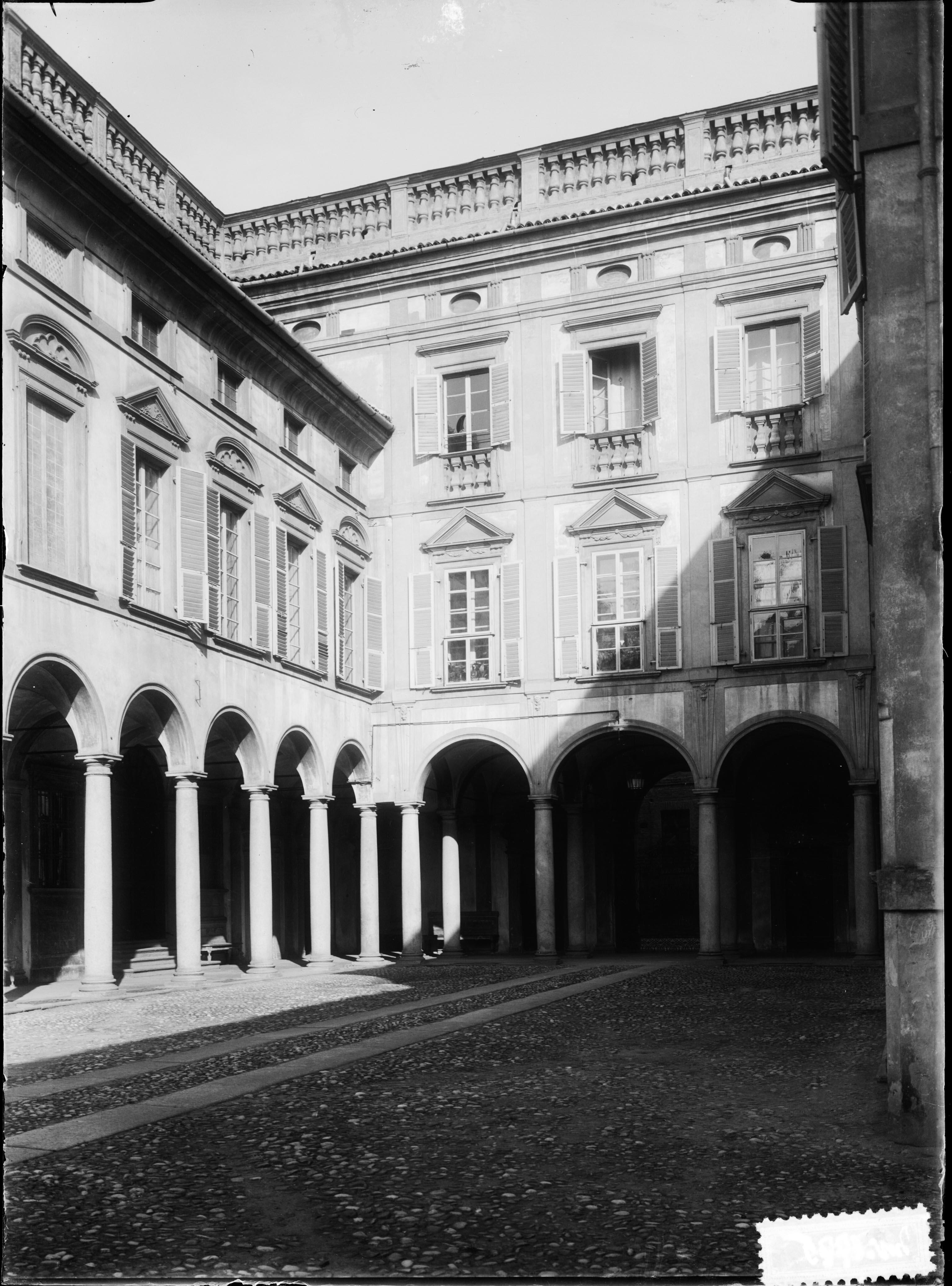 Decorazione – Dipinti murali – Sec. 18 (negativo, insieme) di Anonimo, Morelli, Cosimo (primo quarto XX)