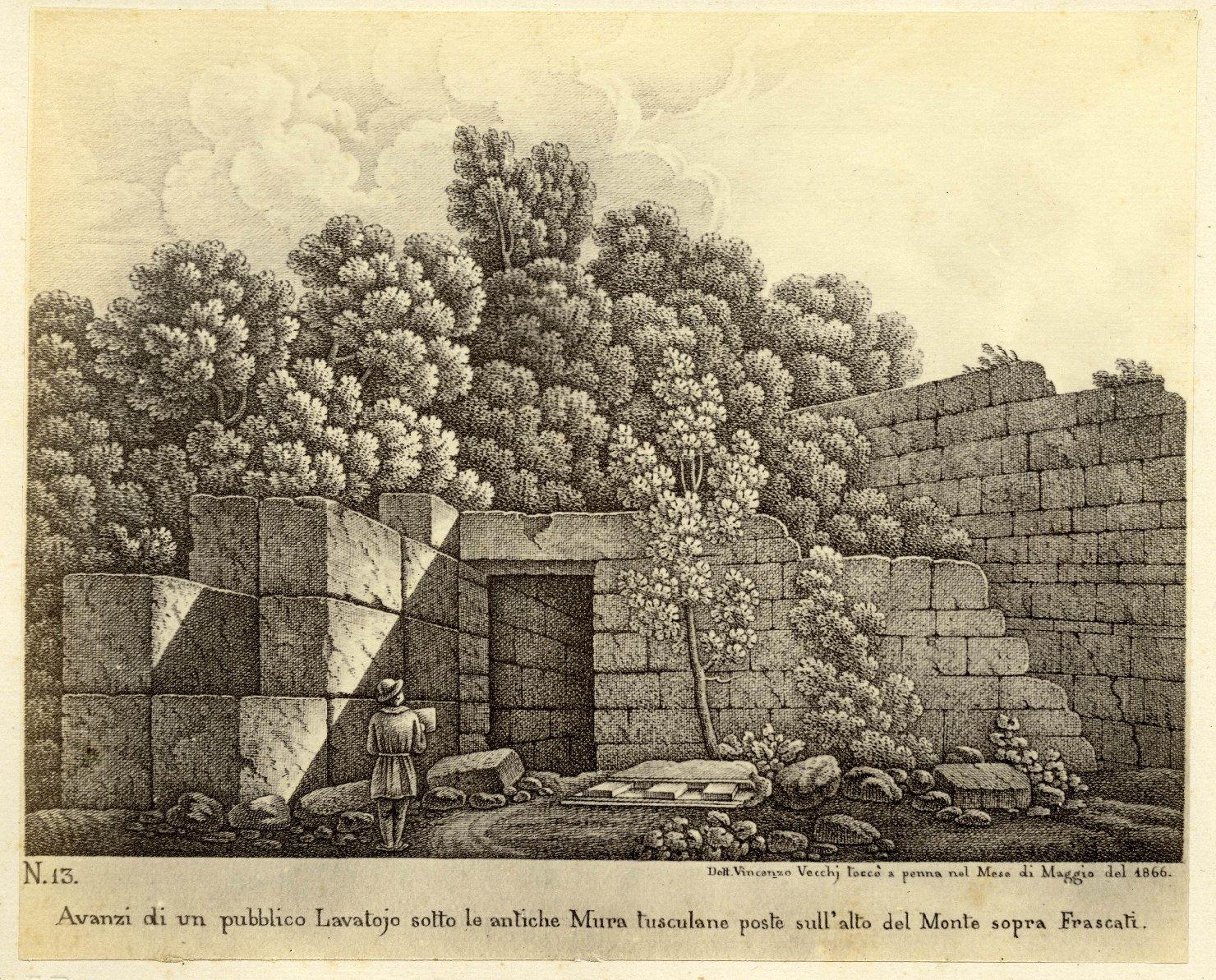 Arte – Incisioni – Acqueforti - Sec. 19 (positivo, serie) di Anonimo, Vecchi, Vincenzo (seconda metà XIX)