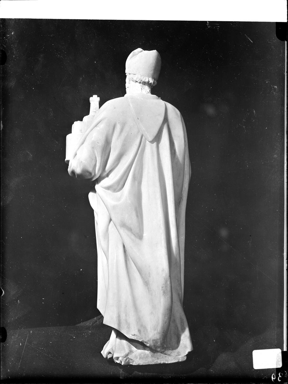 Scultura - Chiese - Monumenti sepolcrali (negativo, insieme) di A. Villani & Figli, Dell'Arca, Niccolò, Buonarroti, Michelangelo, Cortellini, Girolamo (secondo quarto XX)