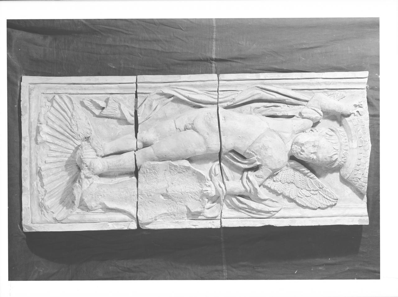 Elementi architettonici in terracotta – Lesene - Fregi (negativo, insieme) di A. Villani & Figli (ditta), Savelli, Sperandio (secondo quarto XX)