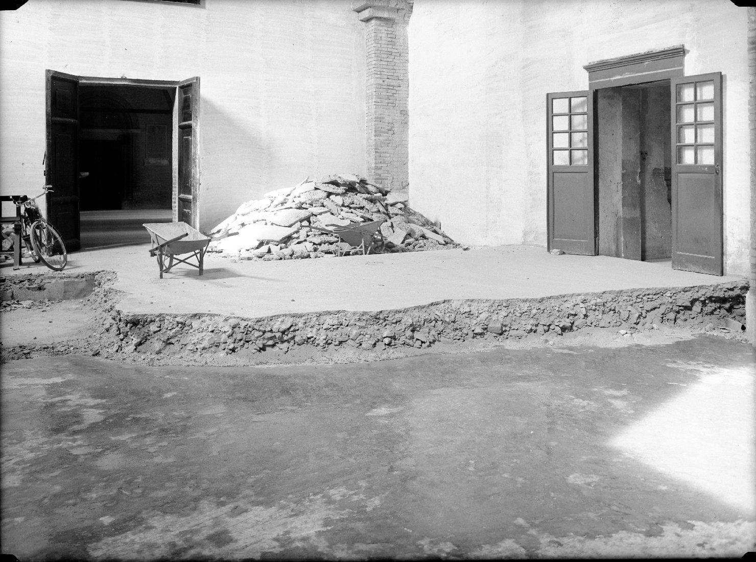 Architettura - Cappelle - Interni - Restauro (negativo, insieme) di Zagnoli, Alfonso, Antonio di Vincenzo (XX)