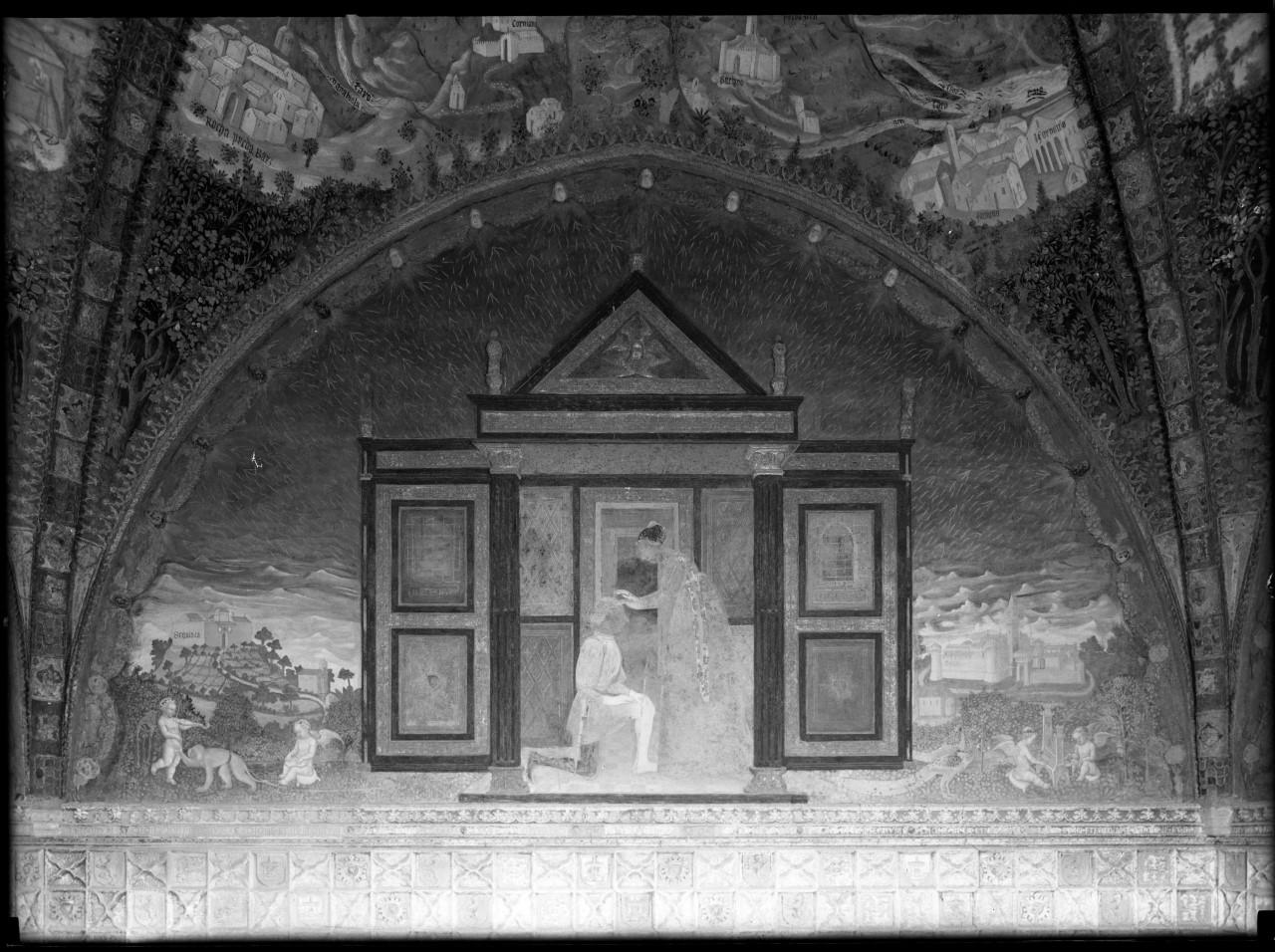 Italia - Emilia-Romagna - Parma <provincia> - Langhirano - Torrechiara - Castello di Torrechiara (negativo) di A. Villani & Figli, Bembo, Benedetto, Paganini, Giovanni Antonio, Martini, Innocenzo, Baglione, Cesare (terzo quarto XX)