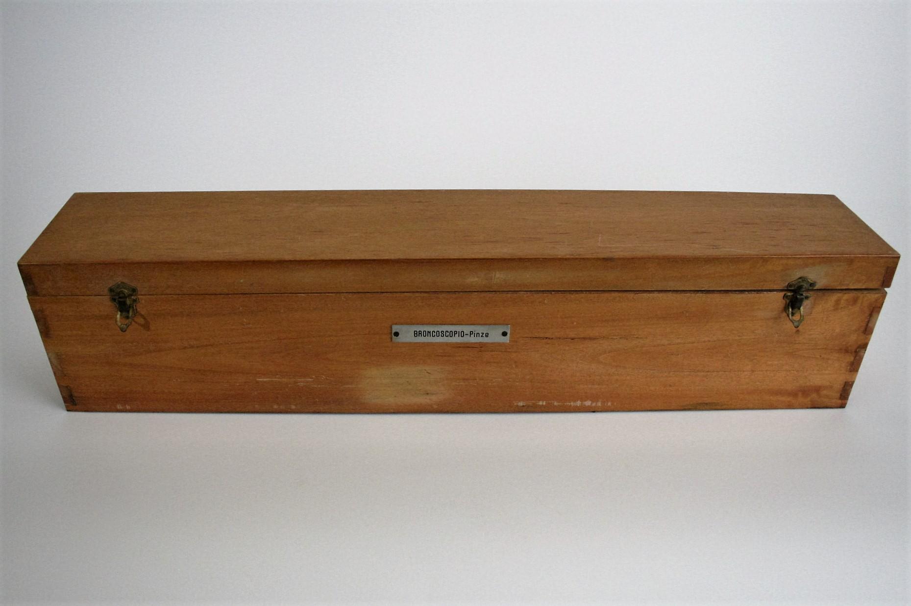 cassetta, per broncoscopio (seconda metà Sec. XX)