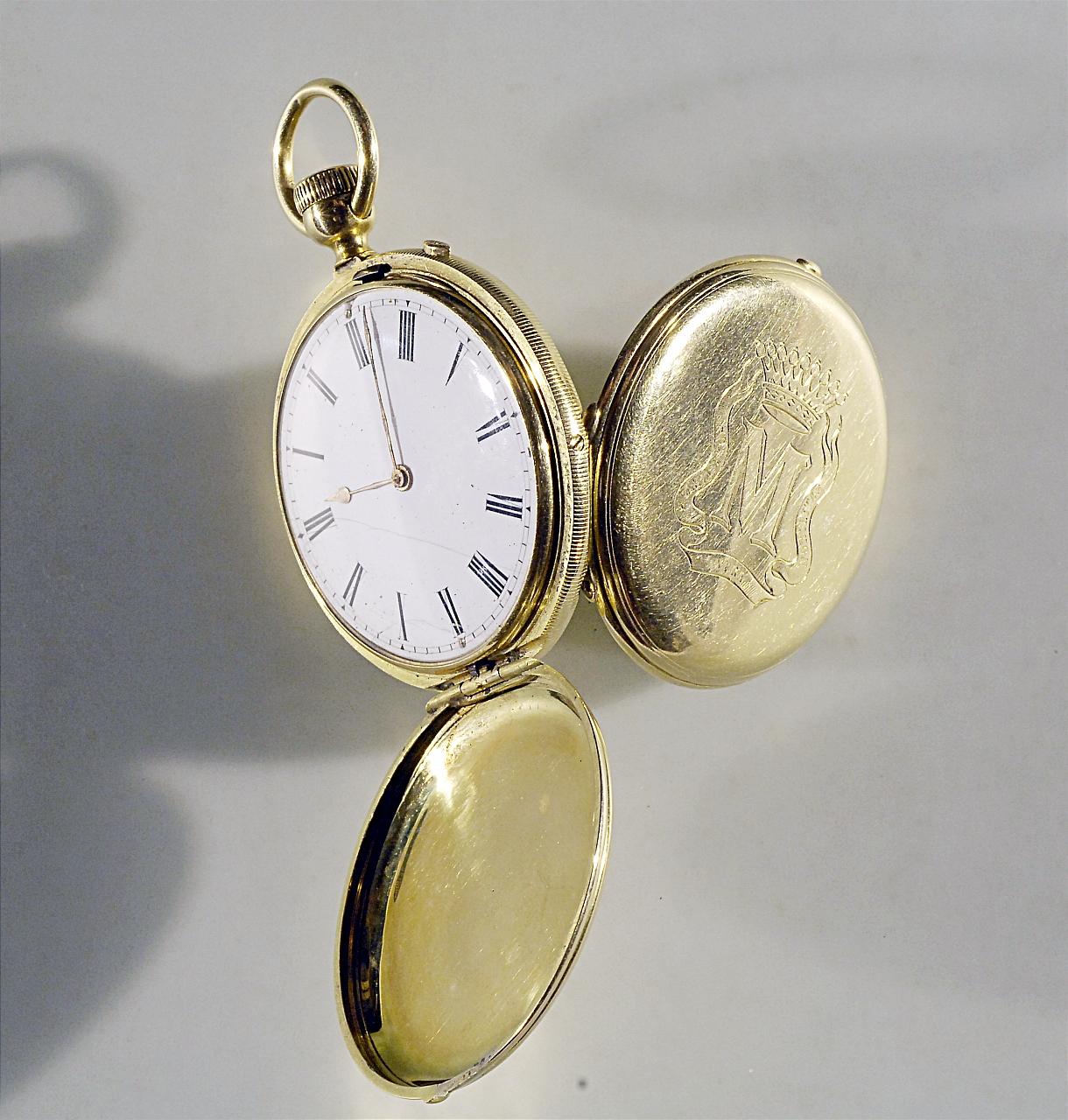 orologio - da taschino di Rossel-Bautte e C. ditta (metà sec. XIX)