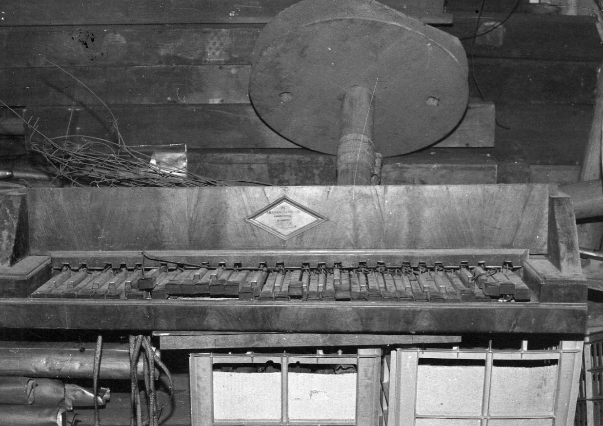 organo di ,  (metà sec. XIX)
