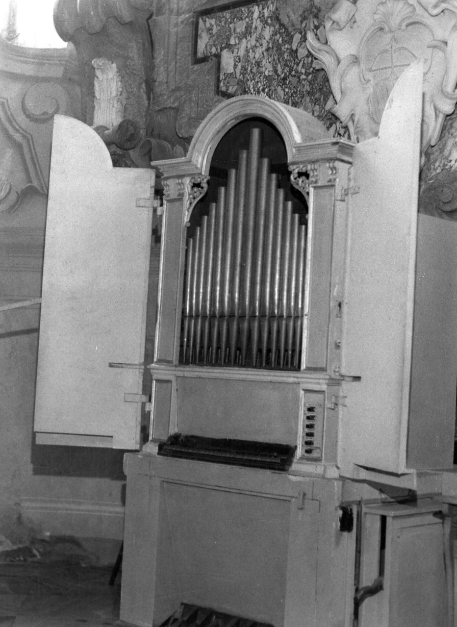 organo - ambito organario piemontese (sec. XVIII)