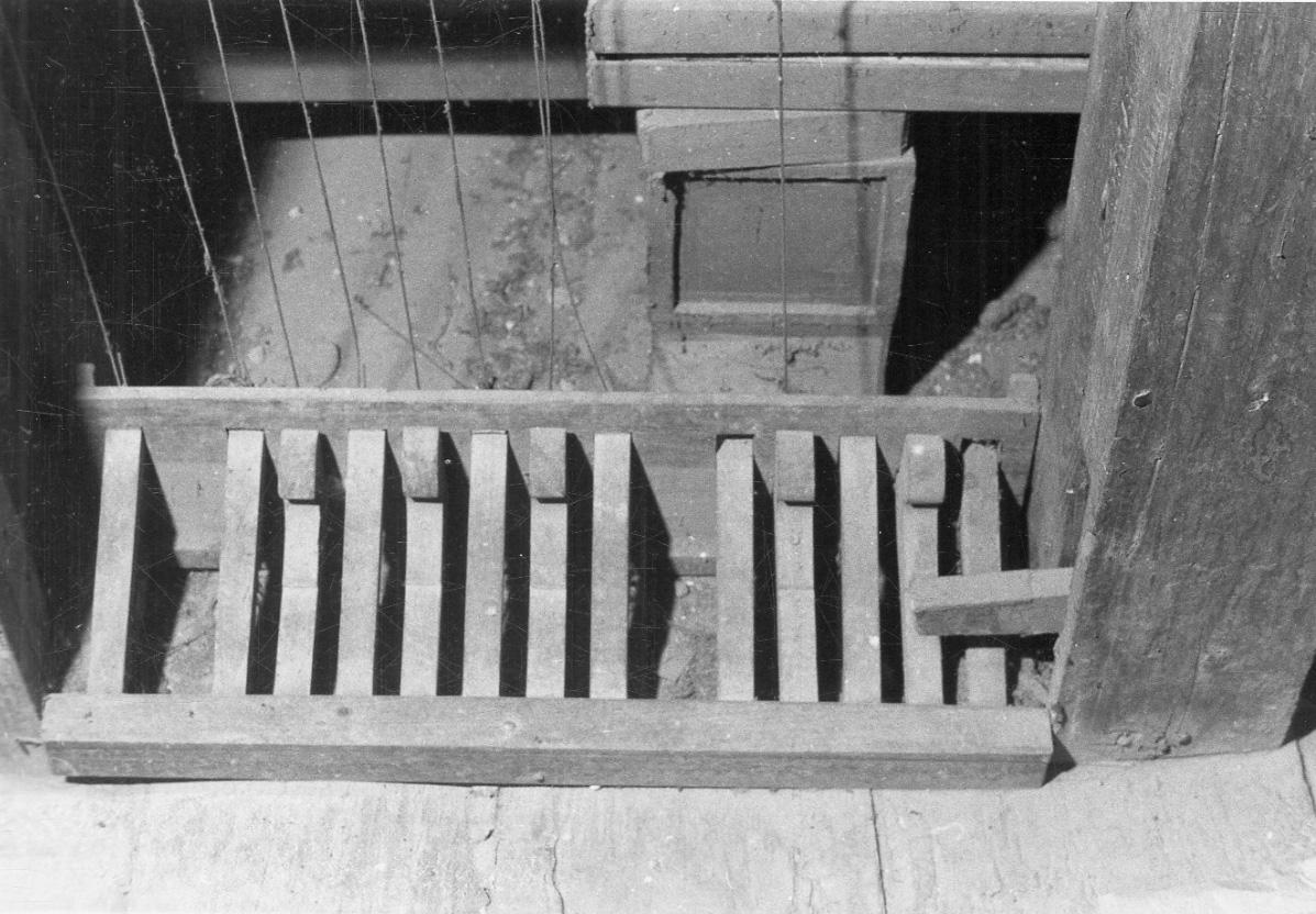 organo - ambito organario piemontese (seconda metà sec. XVIII)