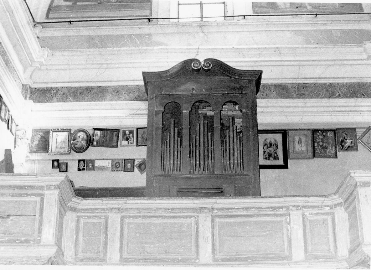 organo (prima metà sec. XVIII)