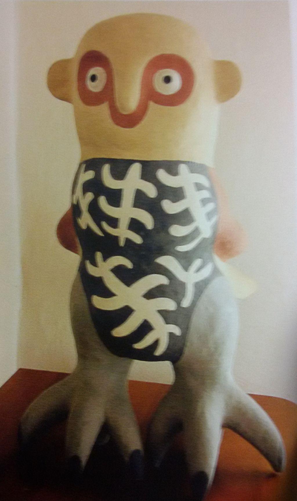 Senza titolo, gufo (scultura) di Bonaldi Federico (sec. XX)