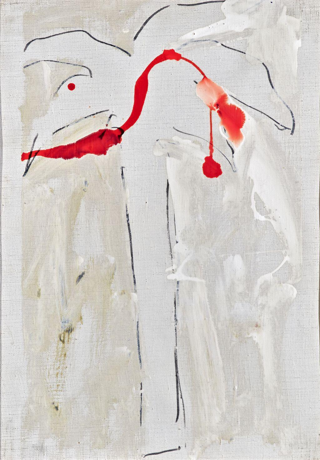 palma (dipinto) di Schifano Mario (sec. XX)