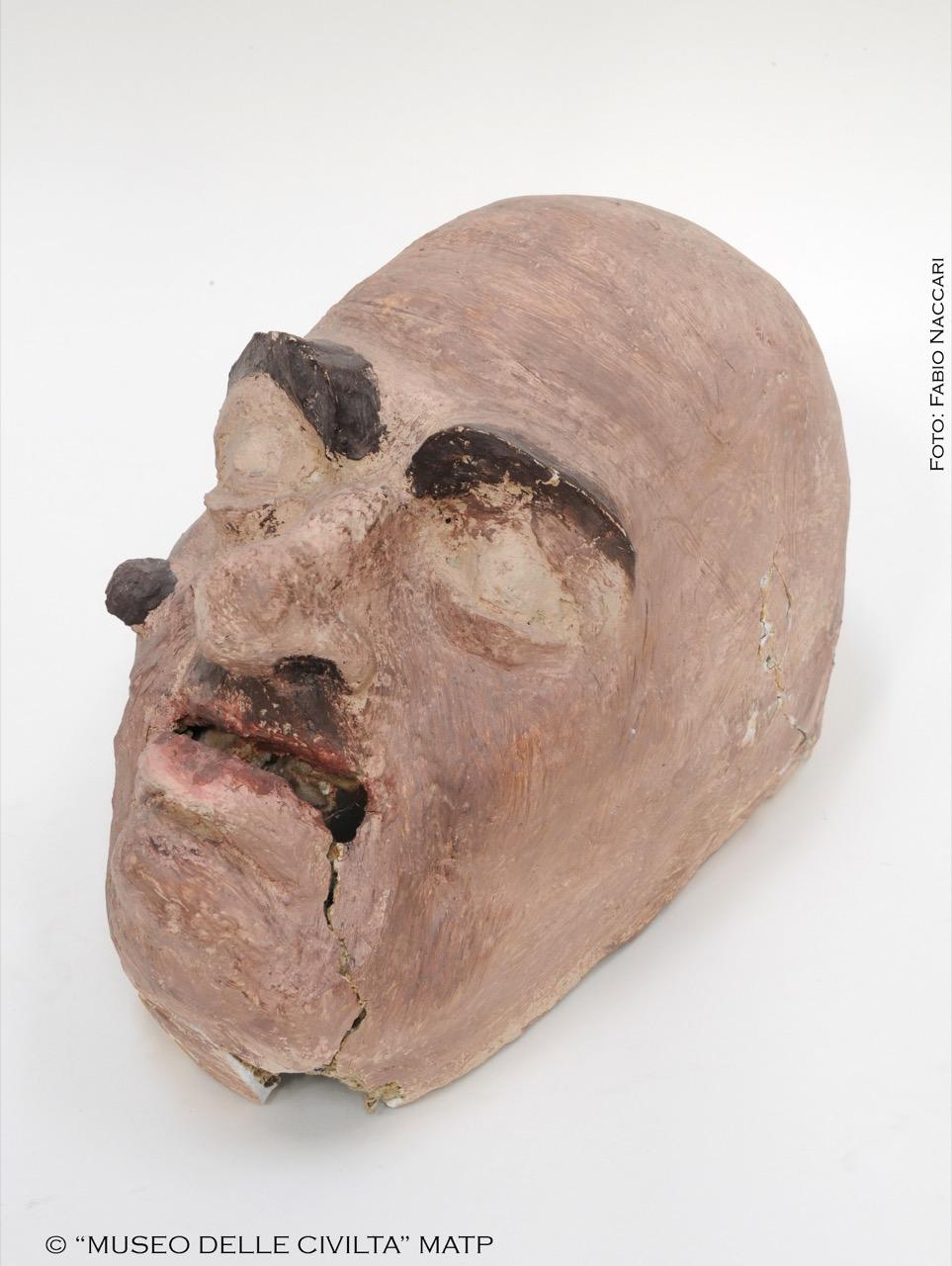 Maschera - Costume di Battì, di carnevale, RITUALITÀ/ ABITI MAGICO-RITUALI-CERIMONIALI