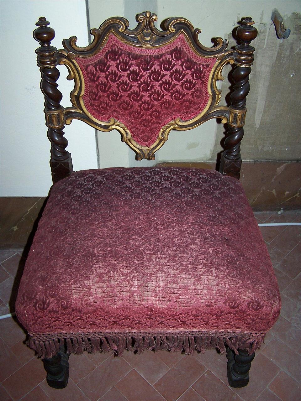 sedia - bottega toscana (sec. XIX)