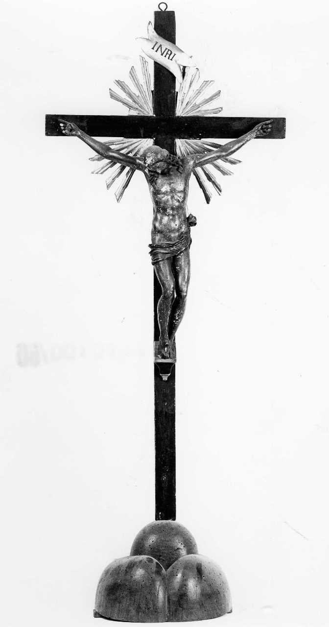 crocifisso - bottega toscana (sec. XVII)