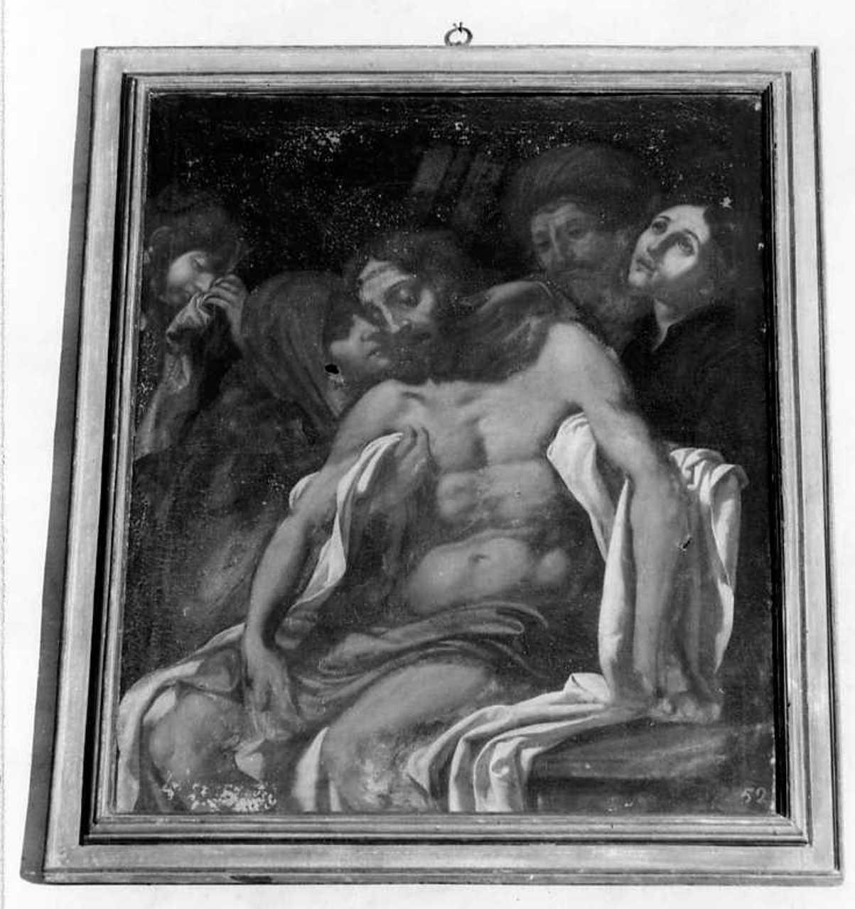compianto sul Cristo morto (dipinto) - ambito toscano (seconda metà sec. XVII)