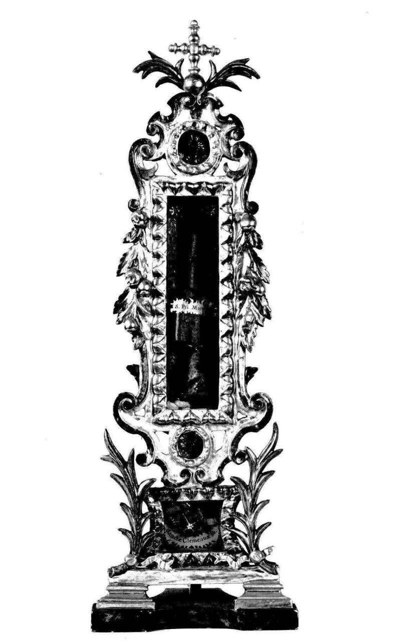 reliquiario, serie - produzione toscana (inizio sec. XIX)