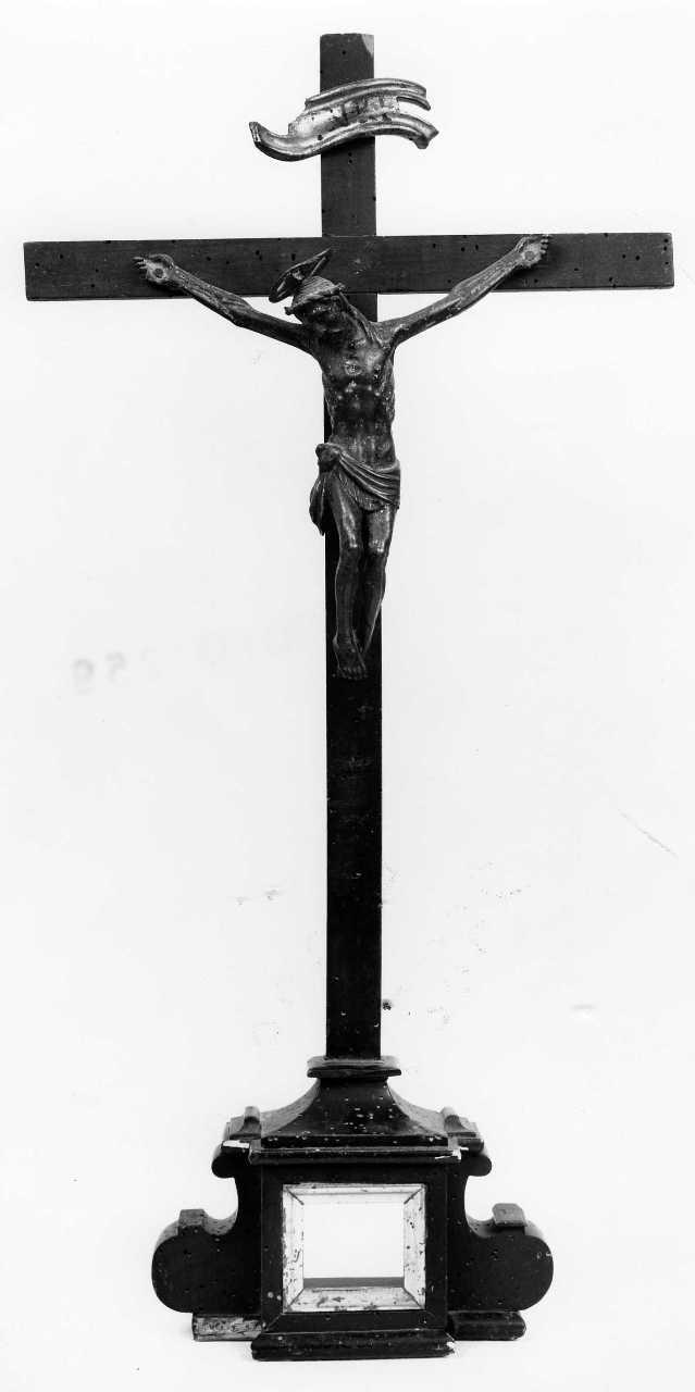 crocifisso - bottega toscana (sec. XVIII)