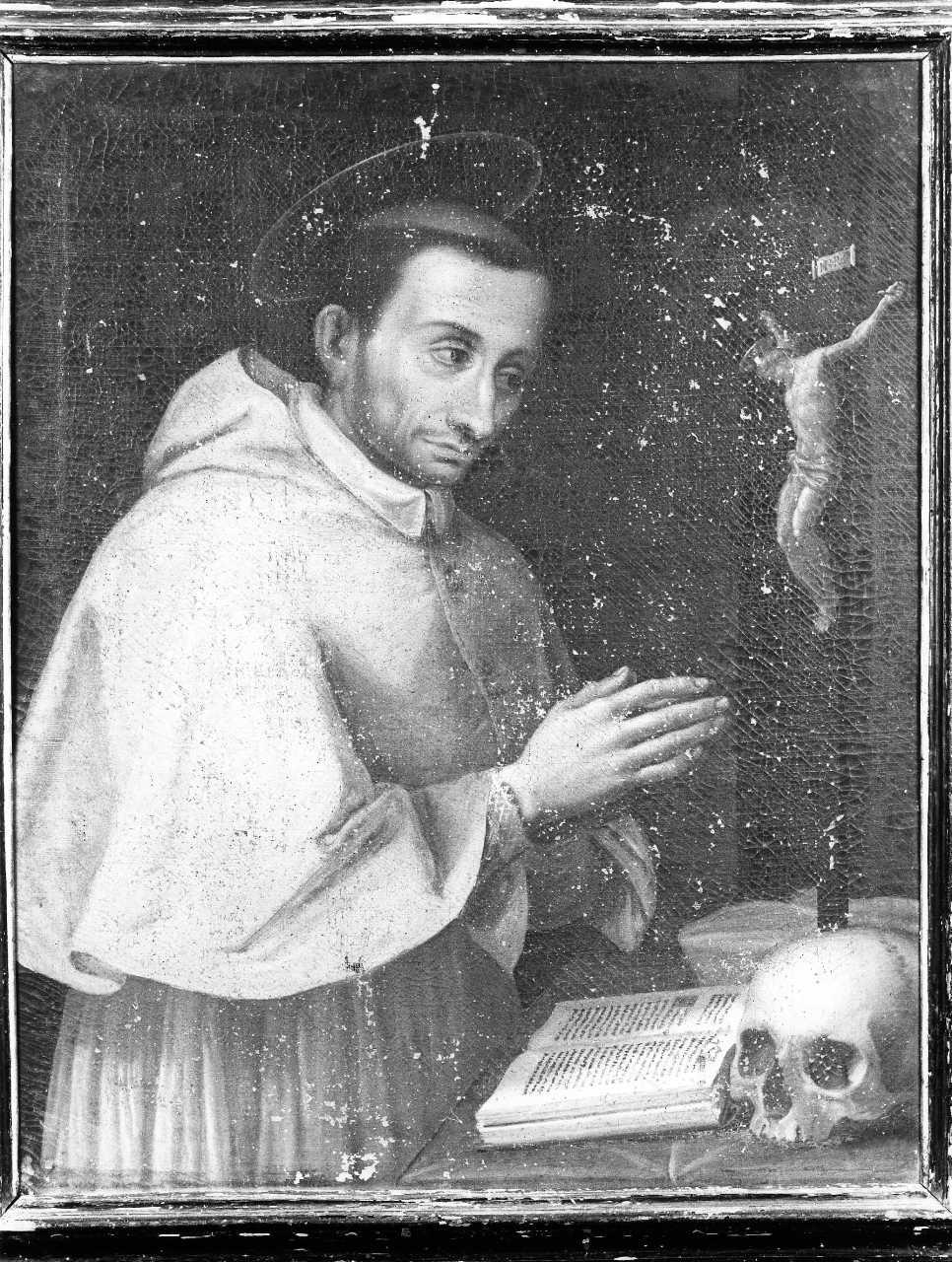 San Carlo Borromeo (dipinto) - ambito toscano (sec. XVII)