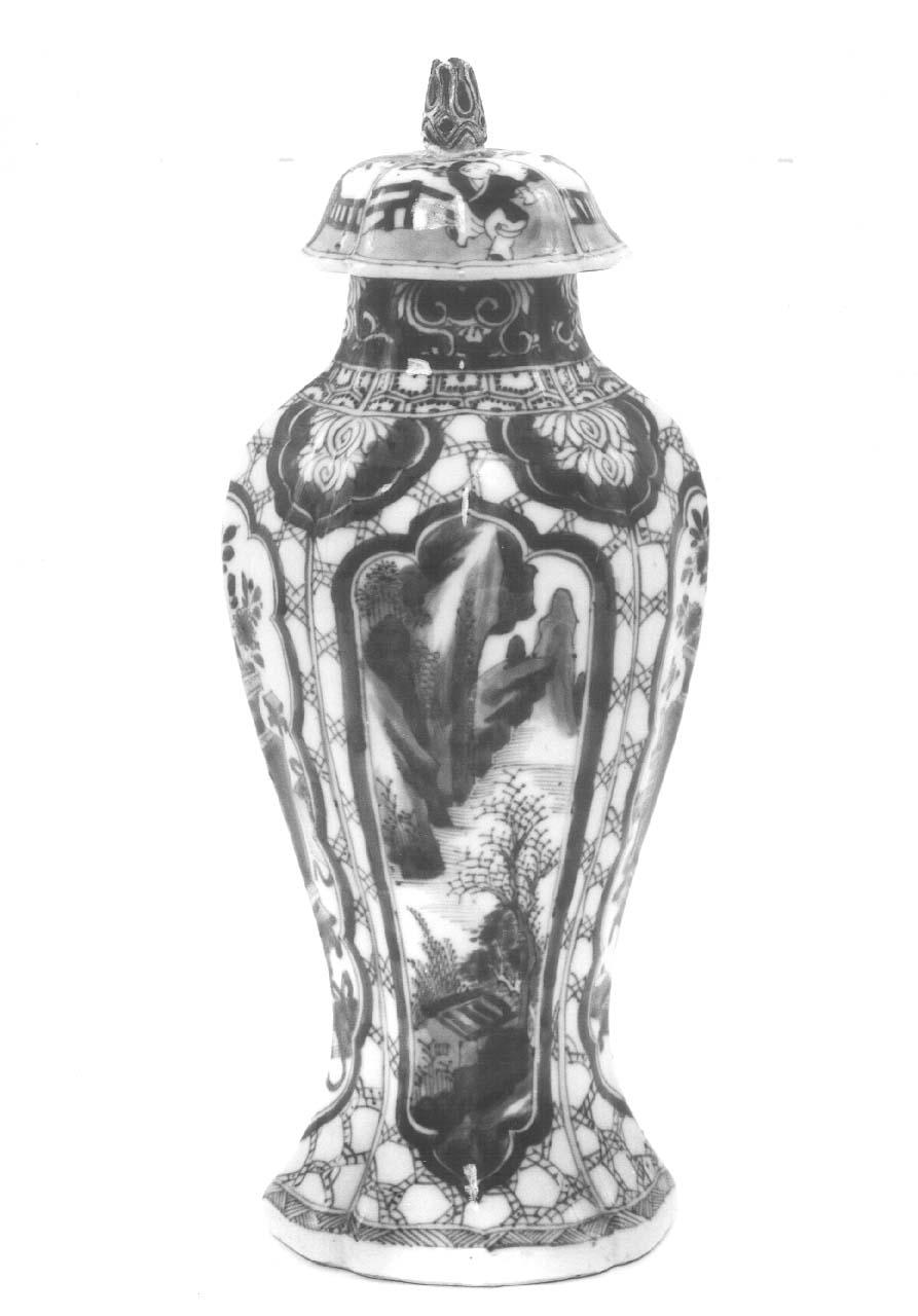 vaso, serie - bottega cinese (fine/ inizio secc. XVII/ XVIII)
