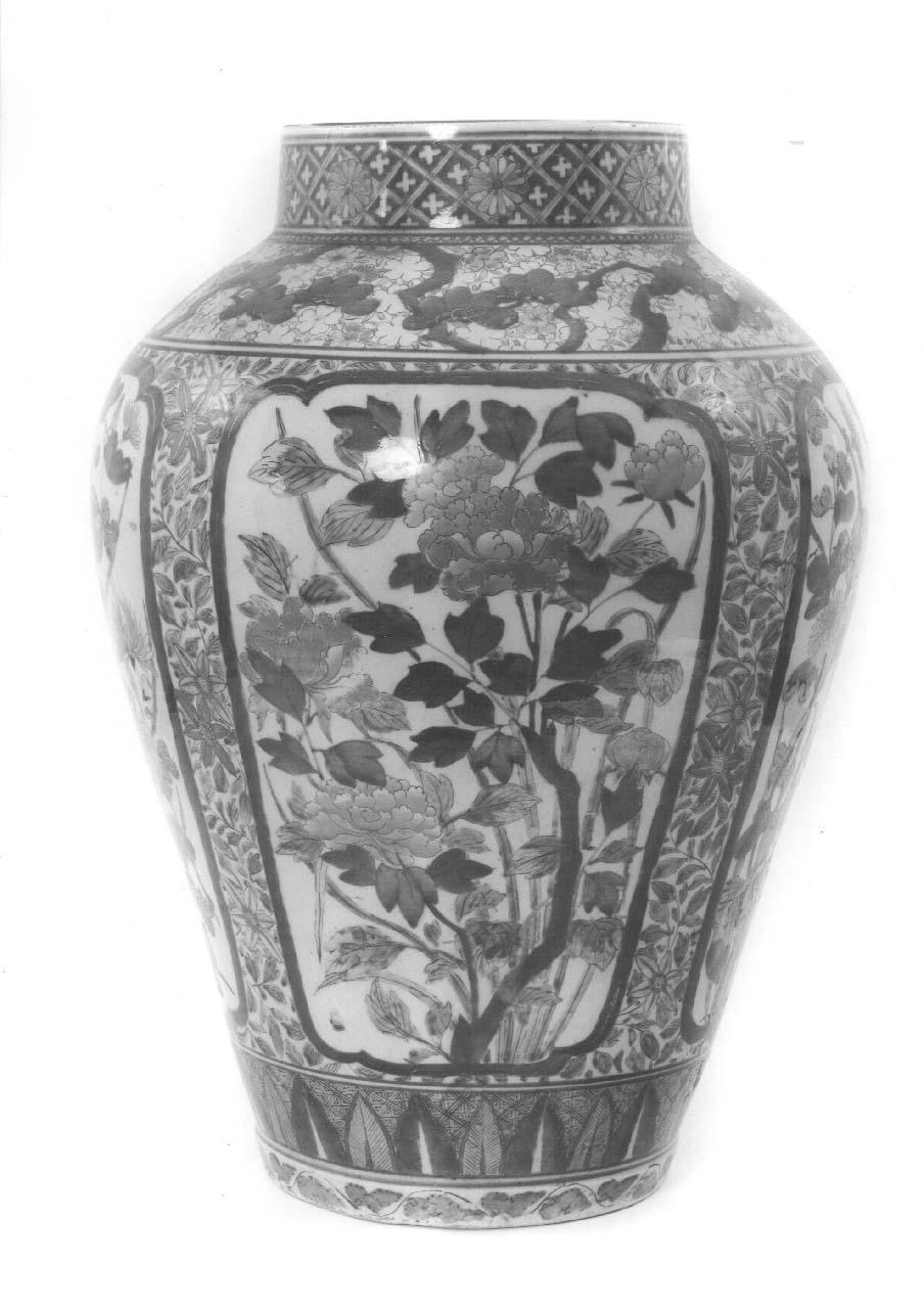 vaso - manifattura giapponese (prima metà sec. XVIII)
