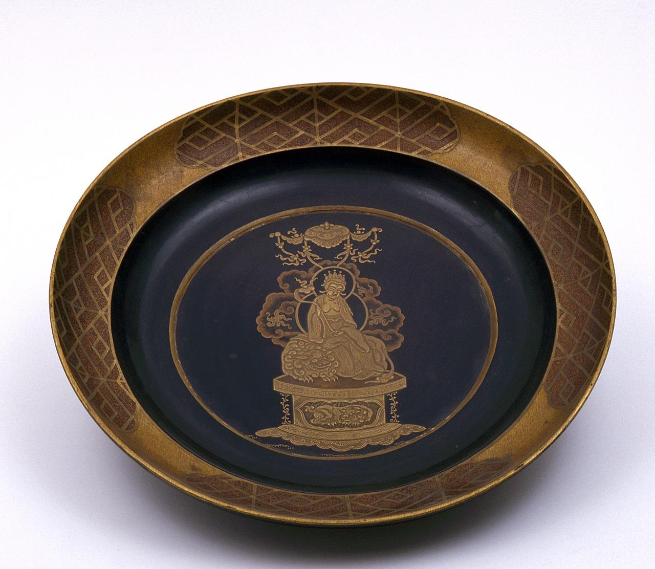 Budda (piatto) - manifattura giapponese (sec. XVII)