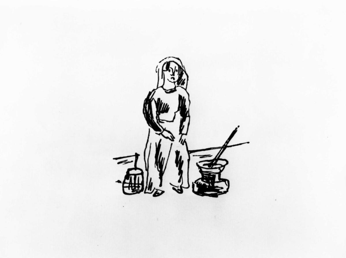vignetta satirica (stampa) di Maccari Mino (sec. XX)