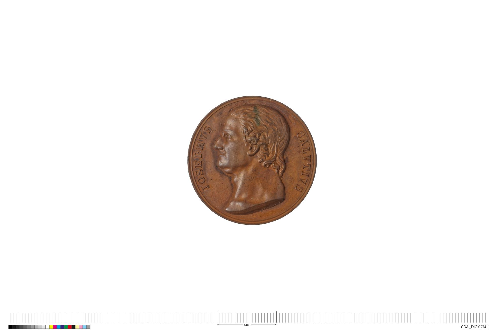 medaglia di Galeazzi Gaspare (secondo quarto SECOLI/ XIX)