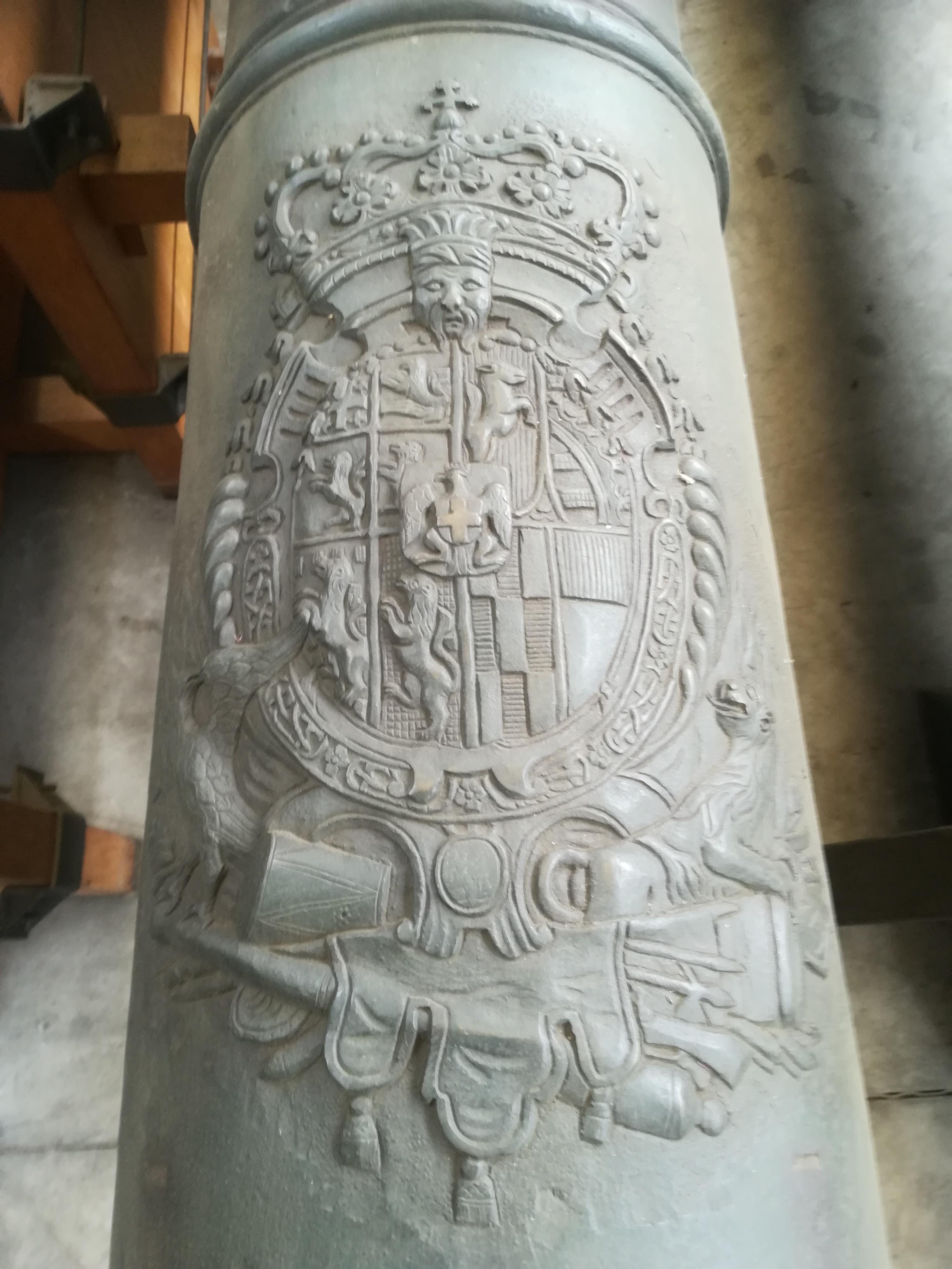 artiglieria storica (Cannone Oliastro Ducato Di Savoia XVIII sec) di Giov. Battista Cebrano (officina) - Ducato di Savoia e Regno delle Due Sicile (XVIII SEC)