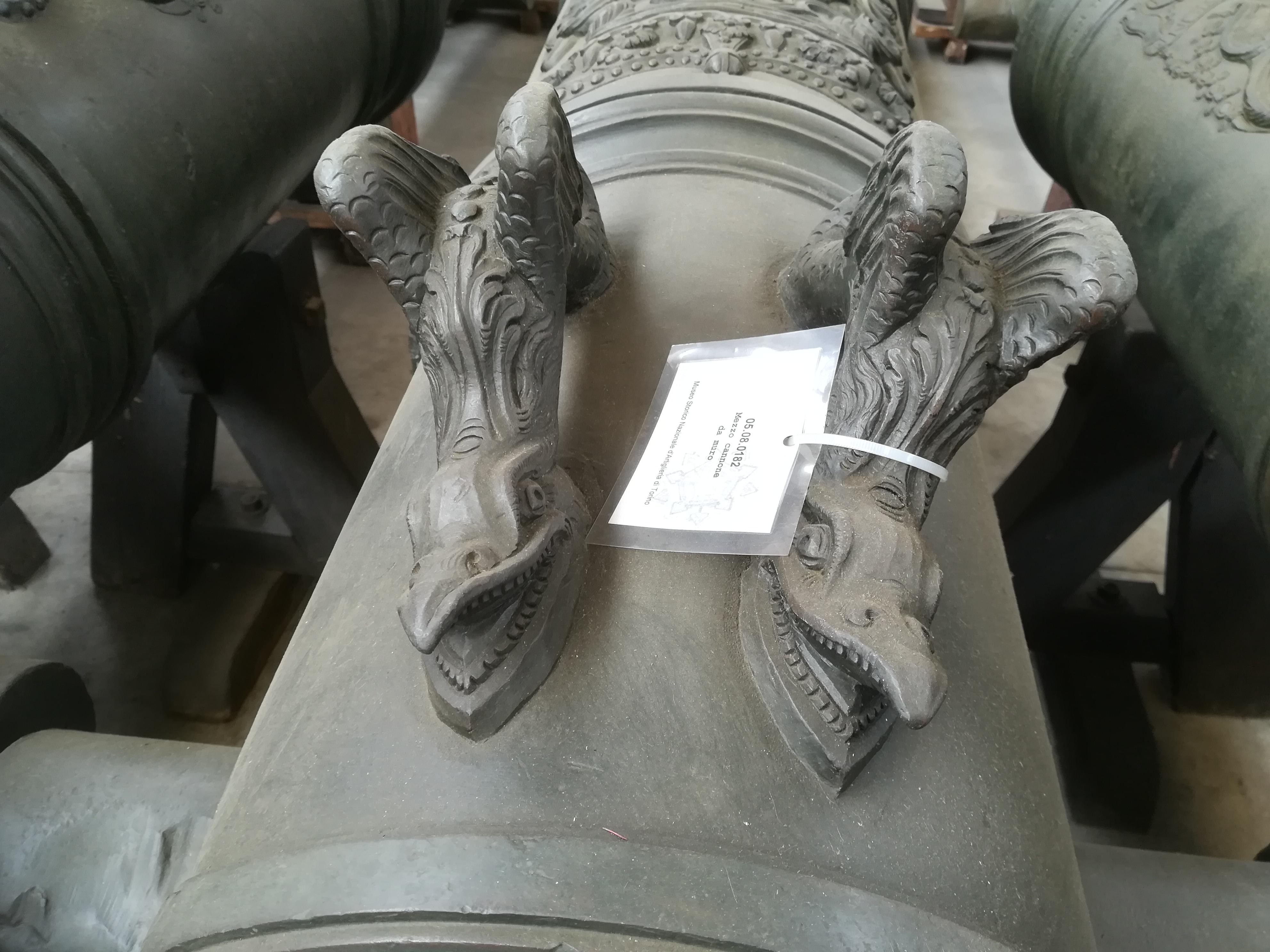 artiglieria storica (cannone LA PANTERA art. napoletana 1745) di D. HIEvs CASTRONOVO R F (attribuito) - Regno di Napoli (prima metà XVIII SEC)