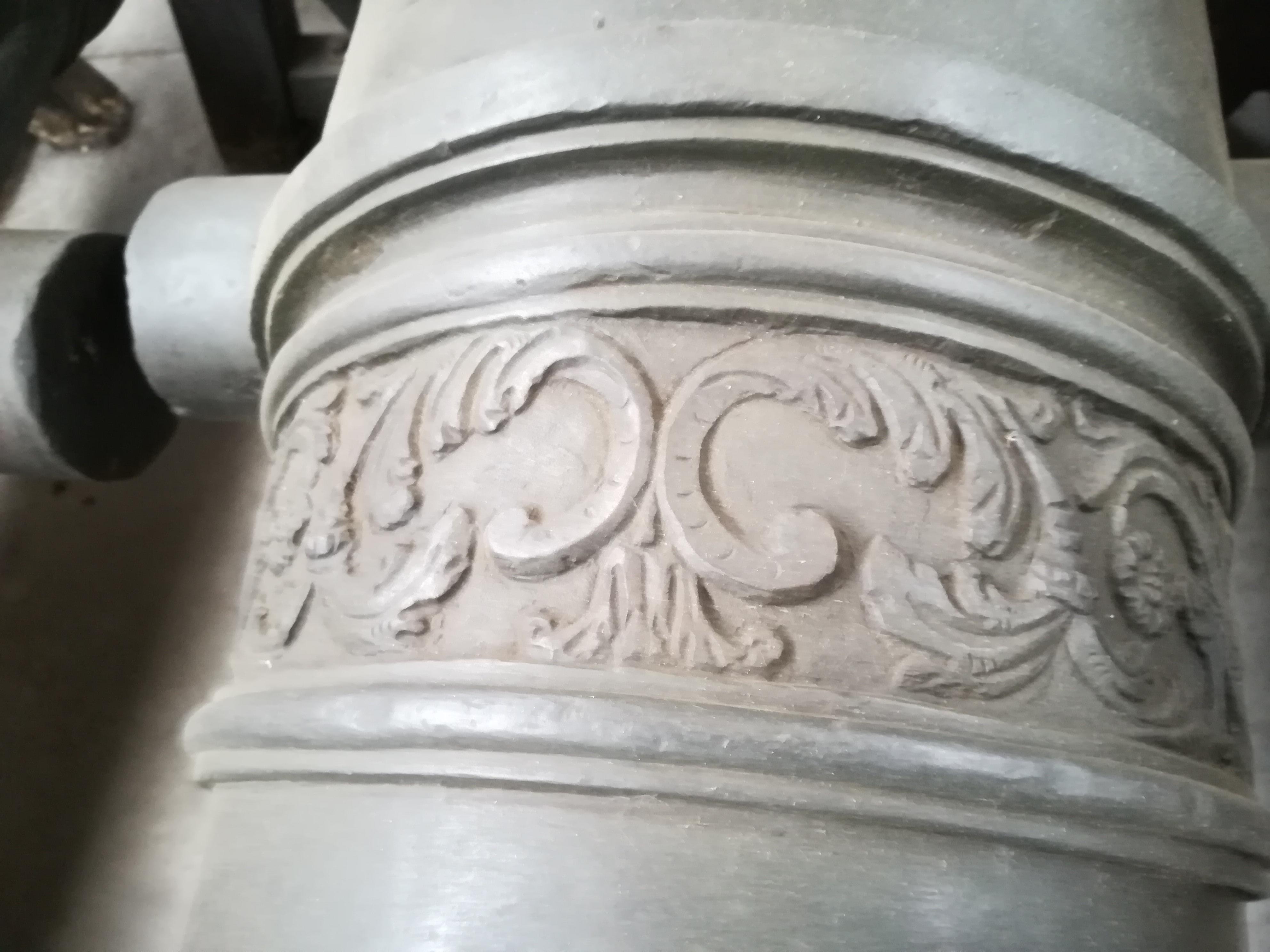 mezzo cannone da 16 L.sistema de Vallière (mezzo cannone LA FAMA, art. delle Due Sicilie) di Francesco CASTRONOVO (attribuito) - Regno di Sicilia (Art. Delle Due Sicilie) (secondo quarto XVIII)