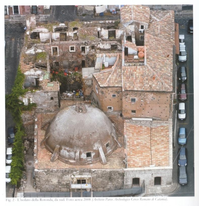 Terme della Rotonda (calidario, LUOGO AD USO PUBBLICO) - Catania (CT)  (inizio/ fine Eta' altoimperiale)