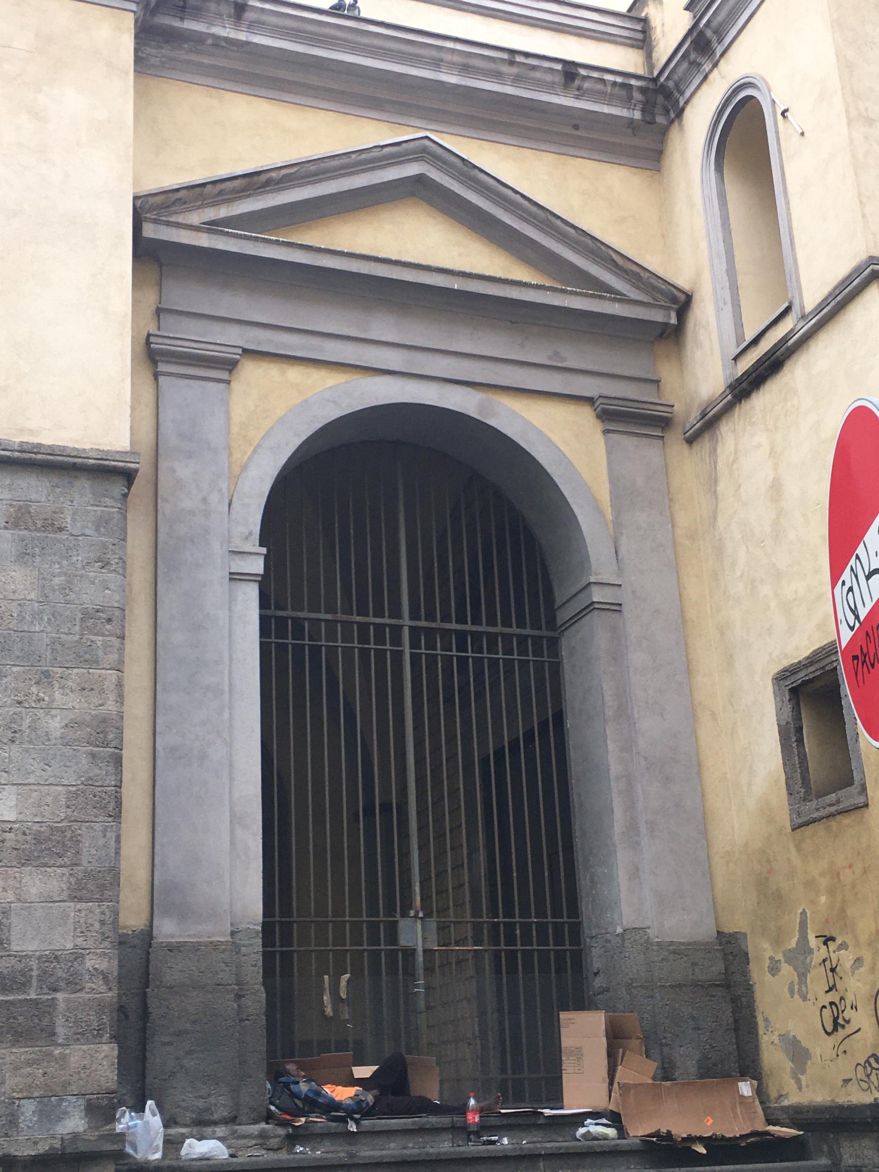 Chiesa Sant'Agnello Maggiore (chiesa, sconsacrata) - Napoli (NA)
