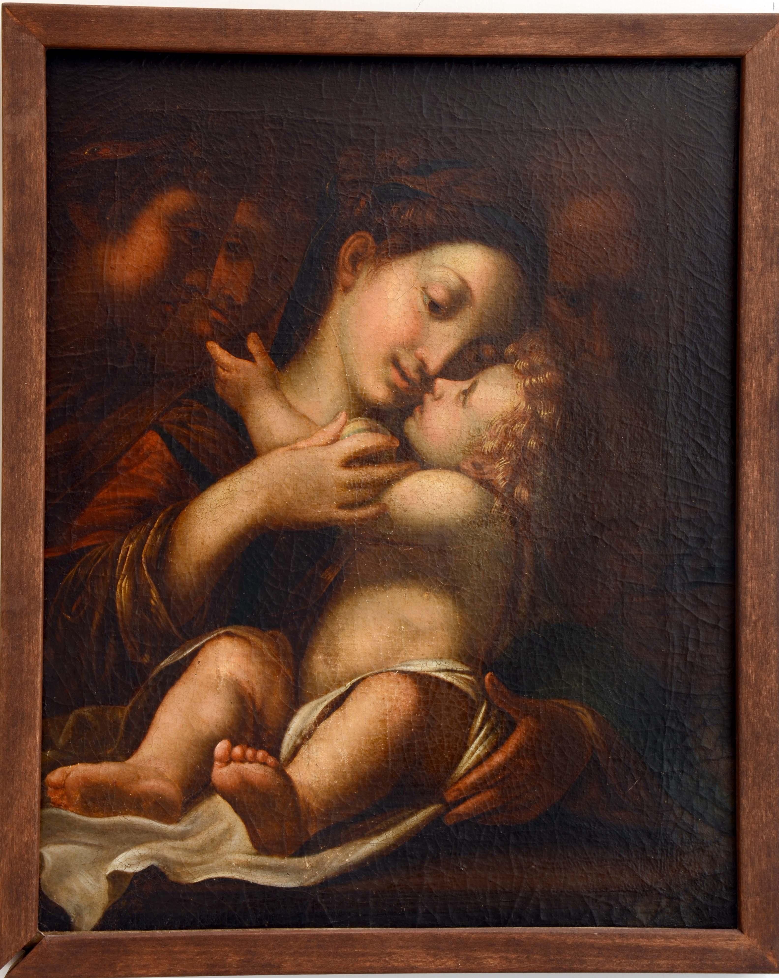 Sacra Famiglia, Sacra Famiglia (dipinto) di ignoto XVII secolo - ambito emiliano-lombardo (XVII, prima metà)