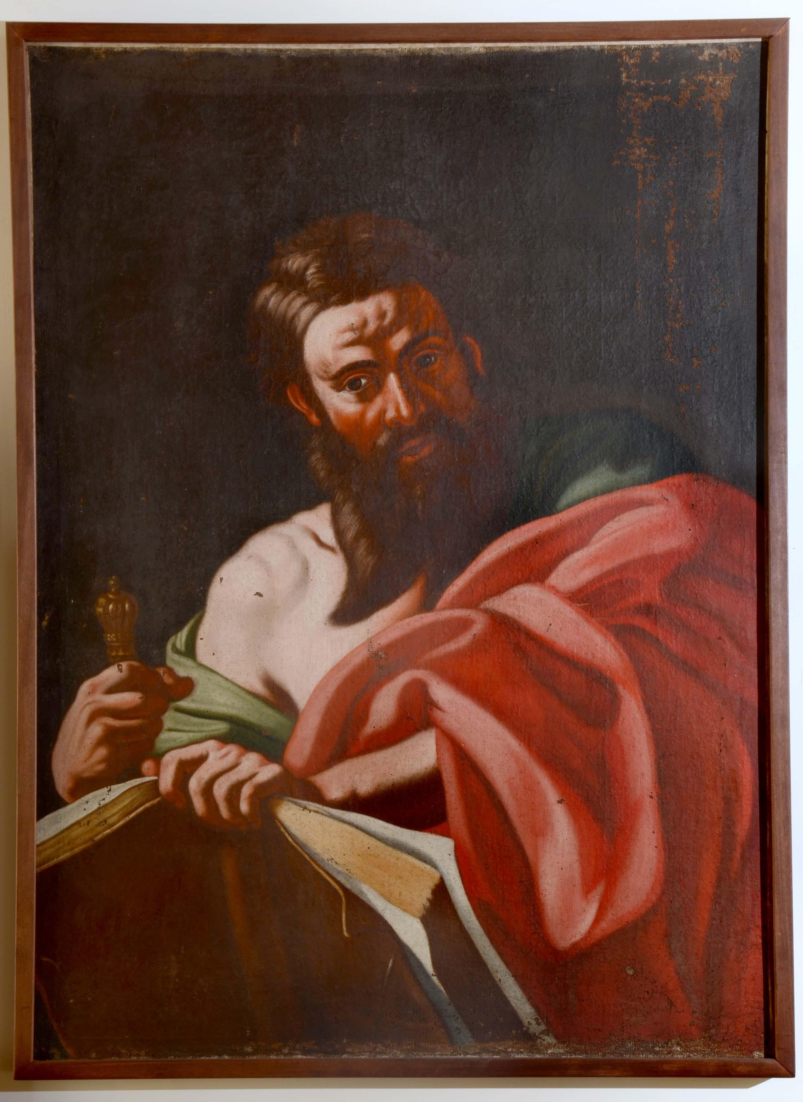 San Paolo, San Paolo (dipinto) di ignoto pittore meridionale (attribuito) - ambito napoletano (XVIII, seconda metà)
