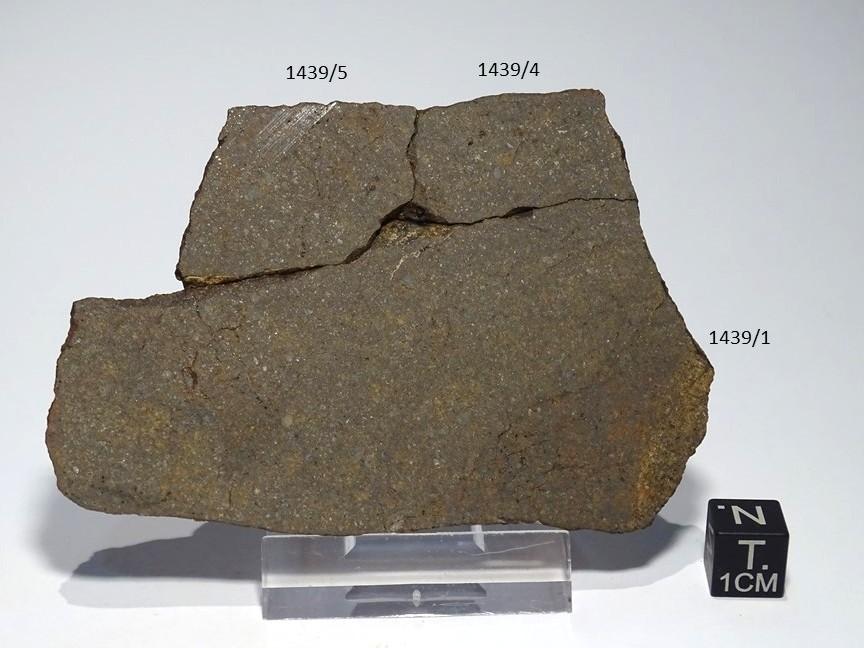 Meteorite/ Condrite ordinaria/Dar al Gani 688 (esemplare)
