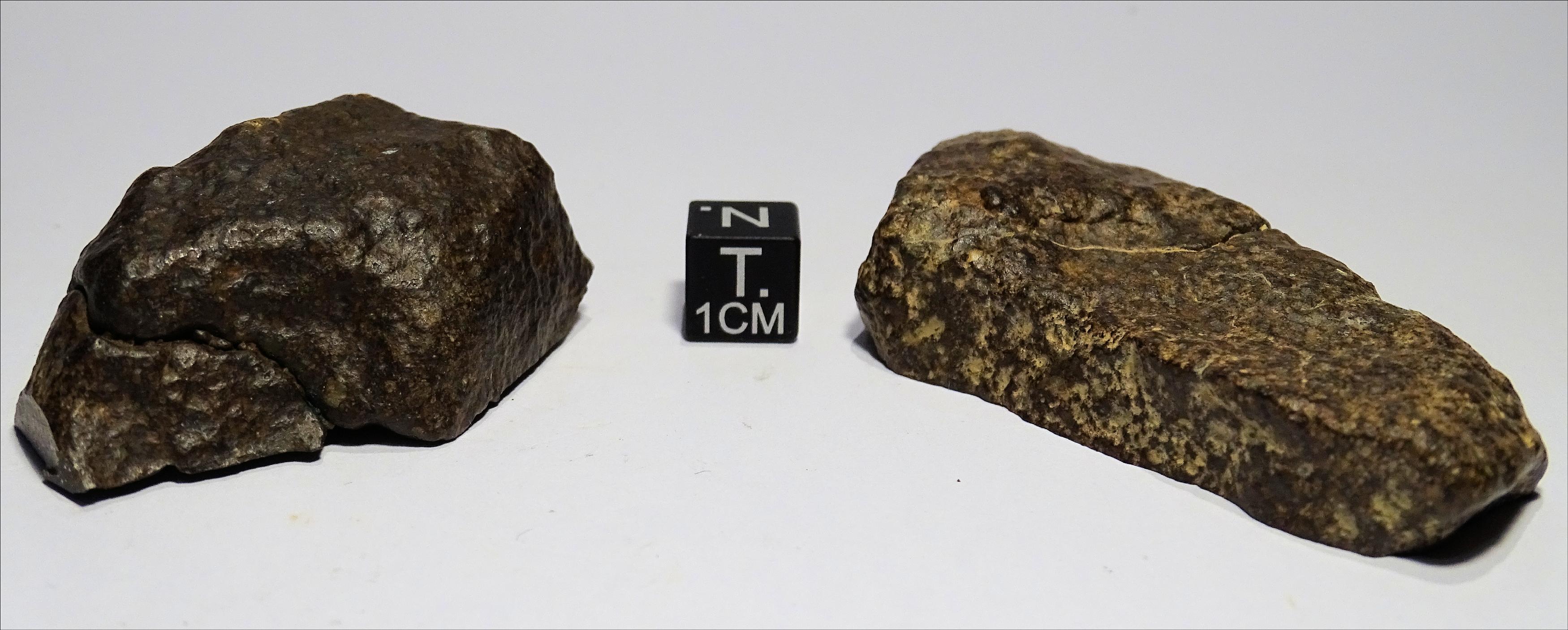 Meteorite/ Condrite non raggruppata/ Acfer 370 (esemplare)