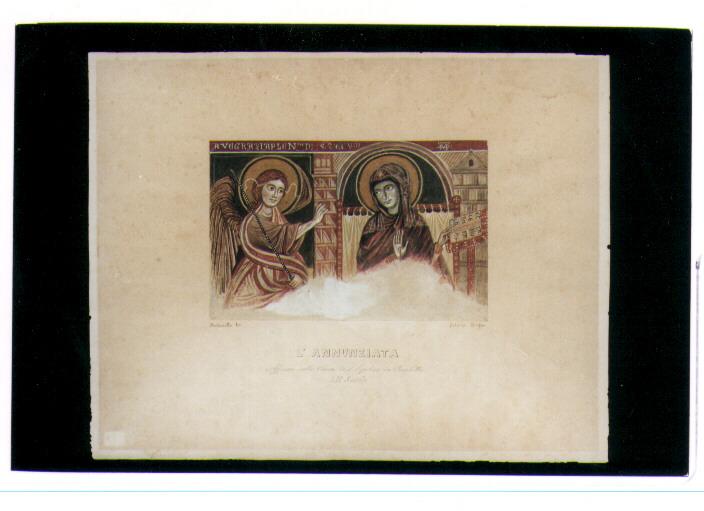 Opera darte annunciazione di autoriello francesco ante 1824 1894