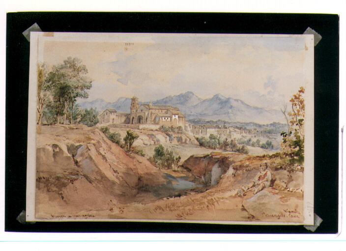 Opera darte paesaggio di vianelli achille 1803 1894 a napoli