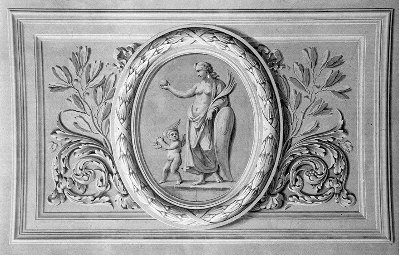 Sant'Elena riporta la vera croce a Gerusalemme (dipinto) di Gaddi Agnolo (e aiuti) (sec. XIV)