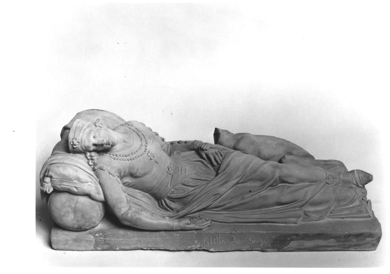 Sibilla di Bougé (scultura, opera isolata) di Cacciatori Benedetto (prima metà sec. XIX)