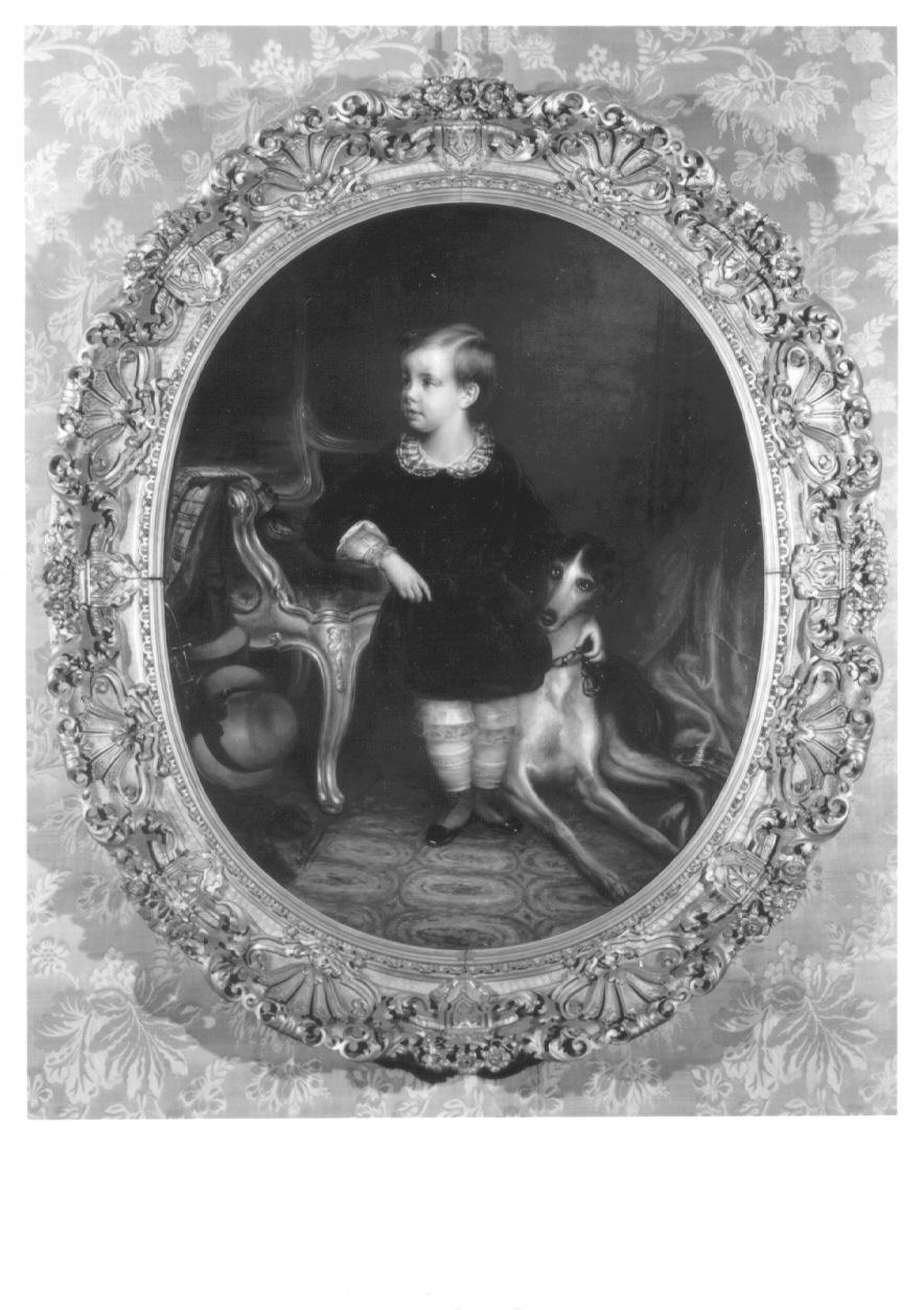ritratto di Umberto di Savoia (dipinto, opera isolata) di Polli Antonio (prima metà sec. XIX)