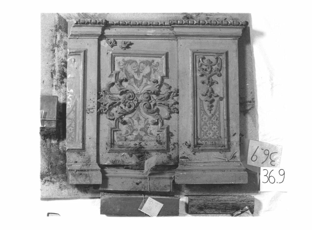 zoccolo, opera isolata - ambito piemontese (sec. XVIII, secondo quarto)