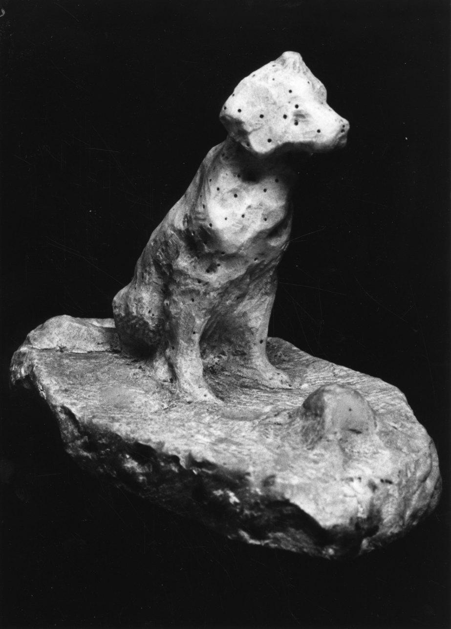 cane (scultura, opera isolata) di Troubetzkoy Paolo (secc. XIX/ XX)