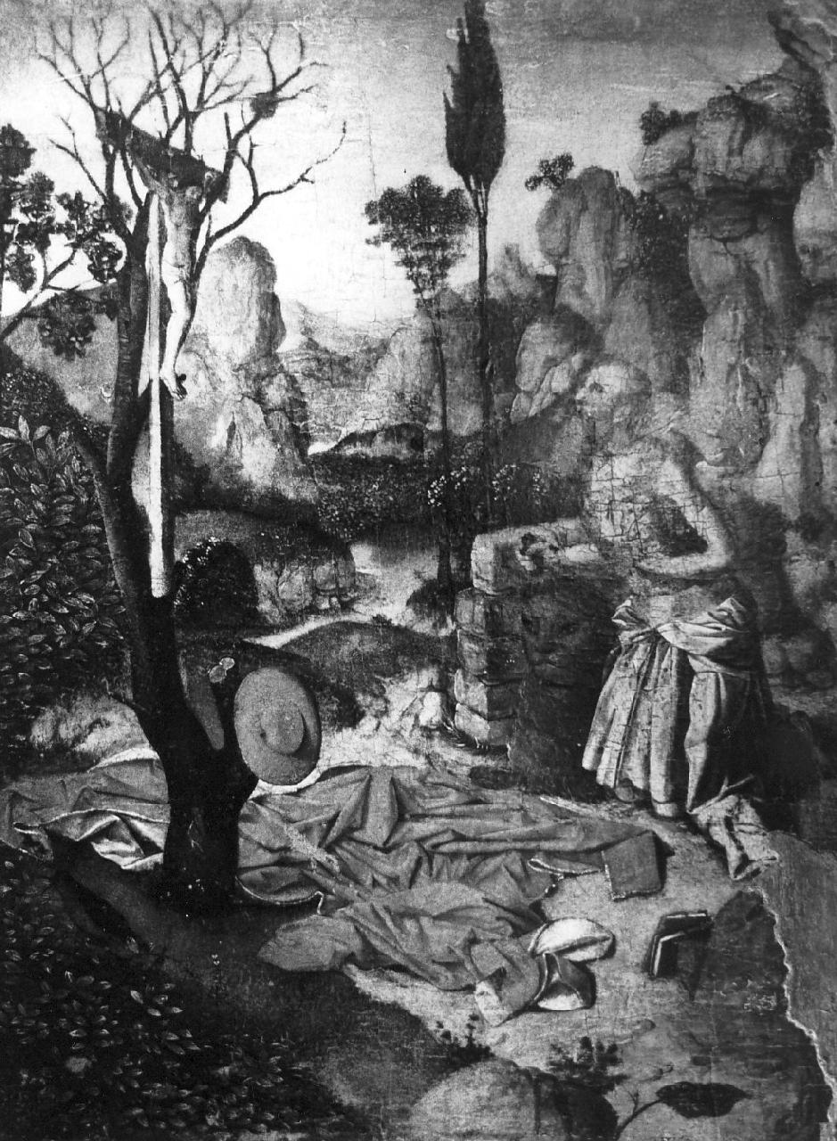 San Girolamo penitente (dipinto, opera isolata) di Antonello da Messina (sec. XV)