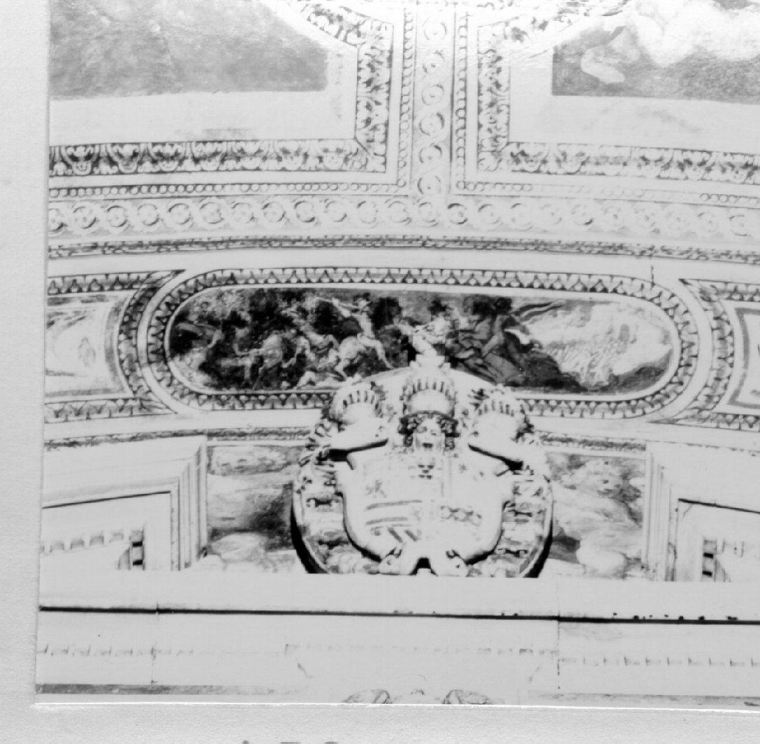 scena di battaglia (dipinto, elemento d'insieme) di Rodriguez Luigi (e aiuti) (primo quarto sec. XVII)