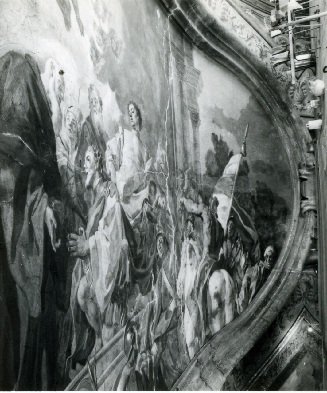 storie della vita di San Benedetto (dipinto, ciclo) di De Mura Francesco (sec. XVIII)
