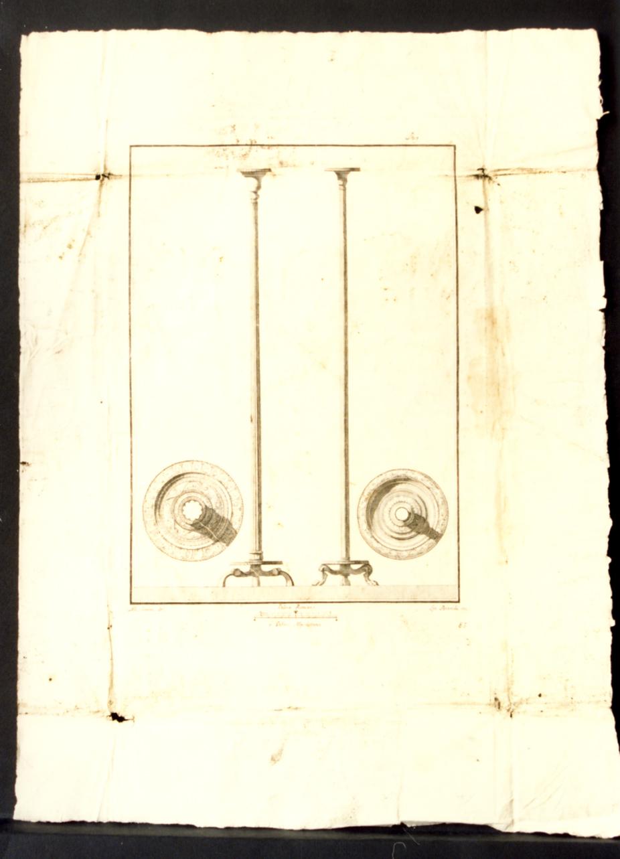 busto virile (stampa) di Cepparoli Francesco, Casanova Giovanni Battista (sec. XVIII)