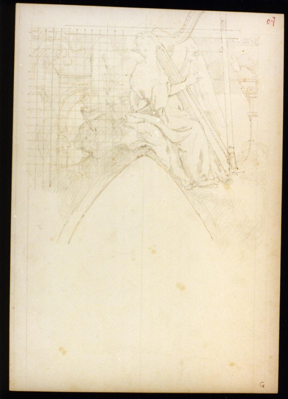 angelo (disegno) di Vetri Paolo (primo quarto sec. XX)