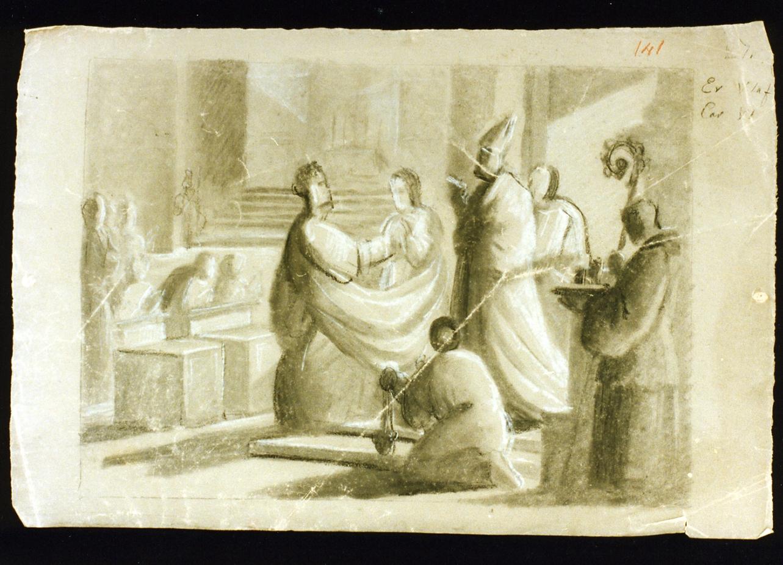 sposalizio (disegno) di De Vivo Tommaso (sec. XIX)